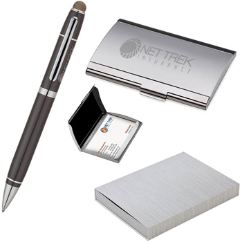 Pen and Business Card Case Set